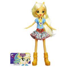 MLP Equestria Girls Friendship Games Applejack School Spirit Doll