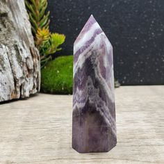 Wiccan Witchcraft Dreamy Amethyst Coffin Sterling Silver Brooch Amethyst Coffin Sterling Silver Pin February Birthstone Pagan
