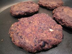 Easy blackbean burger recipe!