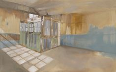 Anna King, Artist, Gallery | Joiners Shed Interior (II)