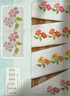 Thrilling Designing Your Own Cross Stitch Embroidery Patterns Ideas. Exhilarating Designing Your Own Cross Stitch Embroidery Patterns Ideas. Cross Stitch Bookmarks, Cross Stitch Heart, Cross Stitch Borders, Crochet Borders, Simple Cross Stitch, Cross Stitch Flowers, Counted Cross Stitch Patterns, Cross Stitch Designs, Cross Stitching