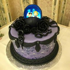 Haunted Mansion cake at the Grand Floridian