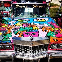 CATillac at the Art Car Parade by @breakawaybackpacker