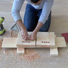 Wood Storage Crates - RYOBI Nation Projects Diy Storage Crate, Storage Shed Organization, Wood Storage, Storage Bins, Homemade Modern, Pine Boards, Plastic Storage, Palette, Woodworking Crafts