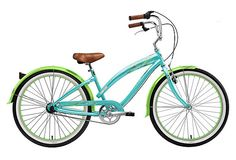 1-Speed Wispy Cruiser, Green - this reminds me a lot of the bike I had when I learned to ride.
