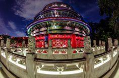 Concentric Circles by -Jamian-, via Flickr Epcot's China Pavillion