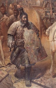 Wang Kewei: Qin dinasty infantry