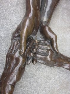 Some hands belong together. -Artist: Louise Bourgeois