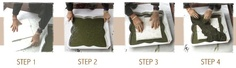 How to mix cement for stepping stones....