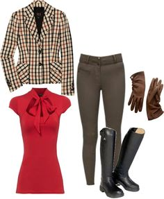 """""""Riding"""" by birdieiam ❤ liked on Polyvore"""