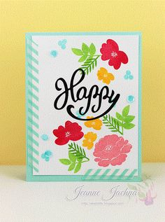 Jeanne Jachna - this is lovely!  Using Avery Elle Petals & Stems
