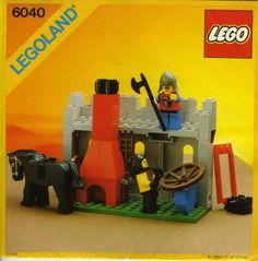 LEGO 6040 Blacksmith Shop instructions displayed page by page to help you build this amazing LEGO Castle set Gi Joe, Lego Castle Instructions, All Lego Sets, Lego Universe, Classic Lego, Classic Toys, Lego Boxes, Lego Knights, Shop Lego