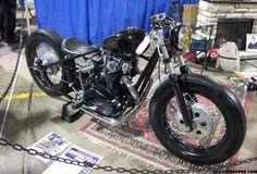 Nice xs650 Yamaha bobber.