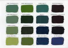 Emery Cie Paints Acrylic Paints Colours Shades Page 02