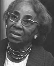 """Known as the """"Grandmother of the American Civil Rights Movement,"""" Septima Poinsette Clark was an educator and civil rights activist. She began teaching on Johns Island in South Carolina, unable to teach in public schools as a black woman. Her own experience of racial discrimination fueled her pursuit of equality through literacy and citizenship schools, of which she founded many in Tennessee.  BIRTH DATE: May 03, 1898  DEATH DATE: December 15, 1987"""