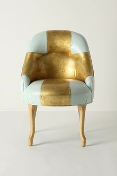 I'm obsessed with fun, refurbished chairs.