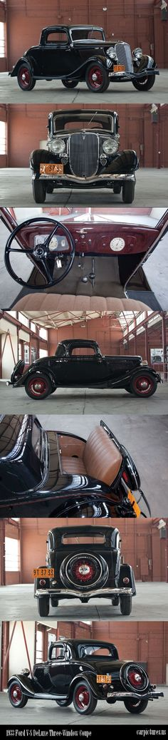 Ford V-8 DeLuxe Three-Window Coupe 1933...Brought to you by #HouseofInsurance in #EugeneOregon