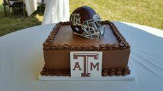 #groomscake #cakesatlanta #cakesmarietta #weddingcake #customcakes #atlantacustomcakes #mariettacustomcakes #confectionperfection #TexasA&M #texasamcake #footballcake