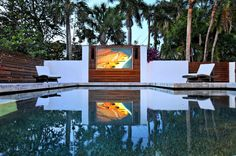 2012 Home of the Year - Best Outdoor Space - contemporary - pool - tampa - SmartHouse Integration LLC