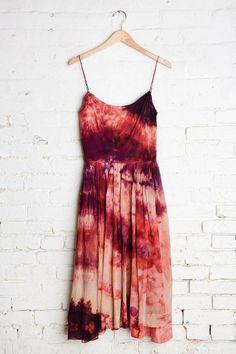 Vintage Dark Skies Sleeveless Dress ✌