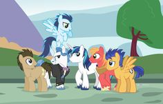 The Men 6. OMG FLASH AND DOCTOR WHOOVES AND SHINING ARMOR!!!!