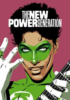 The New Power Generation (Prince as Green Lantern).