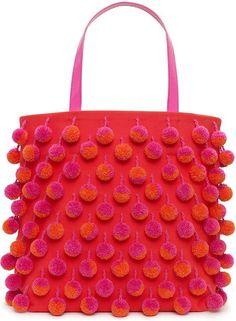 Pom-Pom Handbag