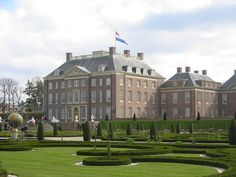 The royal residence Het Loo in Apeldoorn, Netherlands, was built starting in 1684. For over three hundred years, Het Loo was the summer residence of the House of Orange, which became the Dutch royal family.