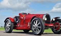 Lord Raglan's Bugattis can still race away... two of his vintage cars make more than £1m at auction