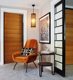 San Francisco Chic Modern Luxury Apartment  Back Unit  Vignette  Contemporary by Staprans Design