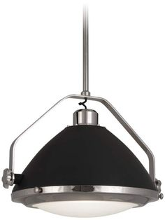 The polished nickel and charcoal gray Apollo pendant light is a chic lighting option for Industrial and Contemporary decor. to adjustable height. Style # at Lamps Plus. White Beams, Fashion Lighting, Unique Lighting, Light Shades, Contemporary Decor, Hanging Lights, Polished Nickel, Apollo, Home Improvement