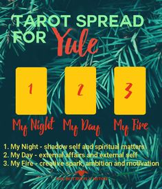 Tarot Spread for Yule - The Butterfly Witch