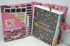 Erin Condren Life Planner Cover Organizer by woodlandcottagefarm