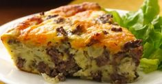 Weight Watchers Recipes | Easy Cheeseburger Pie