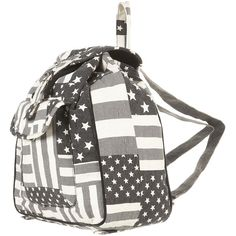 American Flag Backpack ($64) ❤ liked on Polyvore