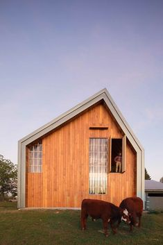 Swallowfield Barn in Langley, Canada by MOTIV Architects Concrete Formwork, American Barn, Wooden Barn, Roof Structure, Construction Process, Hobby Farms, Small Farm, Diffused Light, Pool Houses