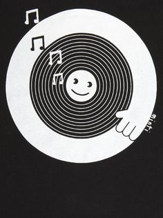 spinning dj t-shirt
