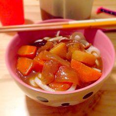 ☆カレーうどん - 6件のもぐもぐ - 5/25 夜ご飯 by cchqm