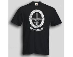 T-Shirt Heeresflieger  T-Shirt Heeresfliger deutsche Bundeswehr. Das Heeresflieger T-Shirt ist in den Größen S-3XL erhältlich. Auf dem T-Shirt ist das Barettabzeichen der Heeresfliger der Bundeswehr abgebildet. / mehr Infos auf: www.Guntia-Militaria-Shop.de
