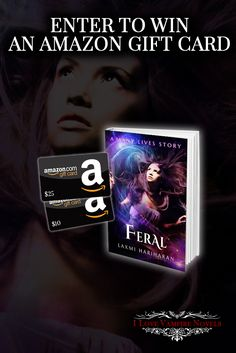 Win up to $45 in Amazon Gift Cards from Bestselling Author  Laxmi Hariharan http://www.ilovevampirenovels.com/giveaways/win-45-amazon-gift-cards-author-laxmi-hariharan/?lucky=422302