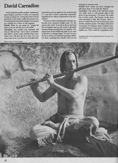 David Carradine in Kung Fu