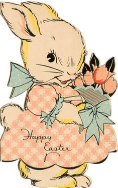 1936 -- Easter card http://www.pinterest.com/MrsJonesVintage/vintage-goodness-easter/