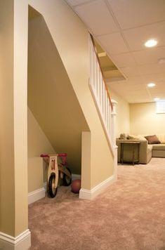Basement Remodel, Philadelphia traditional basement