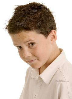 short boy haircut