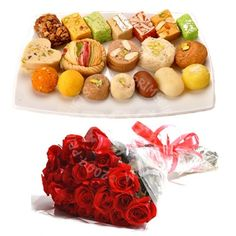 Send Mithai And Roses To Pakistan