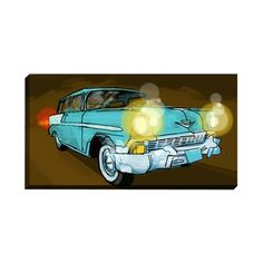 I pinned this 57 Chevy Illuminated Wall Art from the Mamooh! event at Joss and Main!$99.95 sold out!!