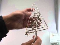 Solution for the Tree Puzzle from Puzzle Master Wire Puzzles