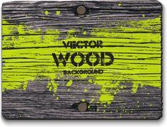 retro square wood board background
