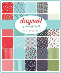 Daysail Jelly Roll by Bonnie and Camille by scarletthreadquiltco