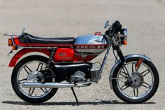 Kreidler rmc-s 1982 Moped Bike, Cool Dirt Bikes, Honda, 50cc, Classic Bikes, Cars And Motorcycles, Motorbikes, Automobile, Bmw